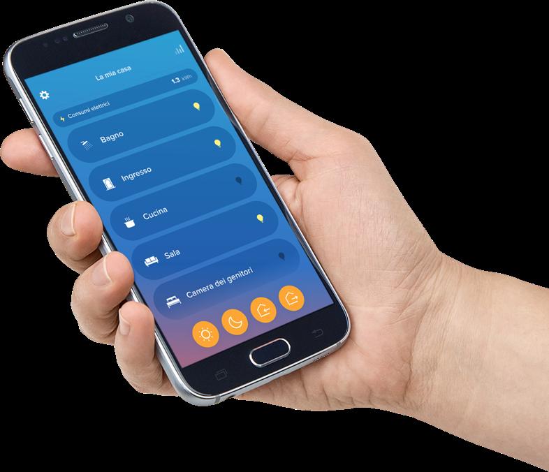 Smartphone con Home + Control